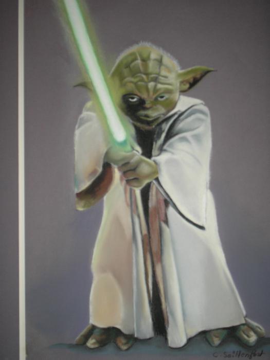 Yoda by pitisoupo